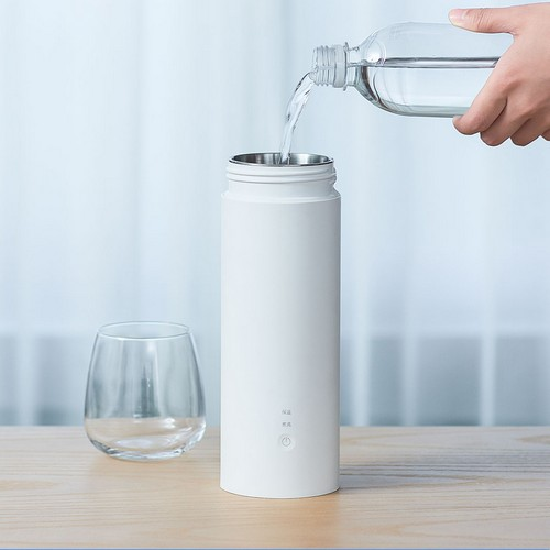 Заливка воды в термос Xiaomi Viomi Travel Electric Cup Fundraising